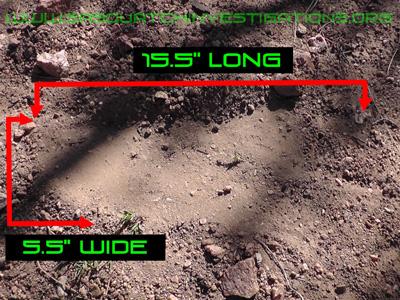 Sasquatch Footprint Picture WTDFP
