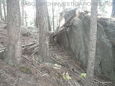 Bigfoot Rock Structure Colorado 3