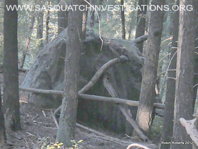 Bigfoot Rock Structure Colorado 4