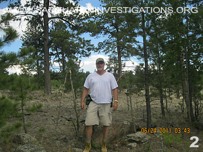 Bigfoot Gifting Pictures From Colorado 2