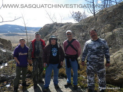 Sasquatch Research In Colorado Field Report 03-25-13 2