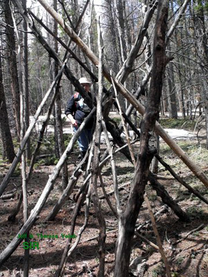 Sasquatch Investigations of the Rockies 05-04-14 Field Report 5